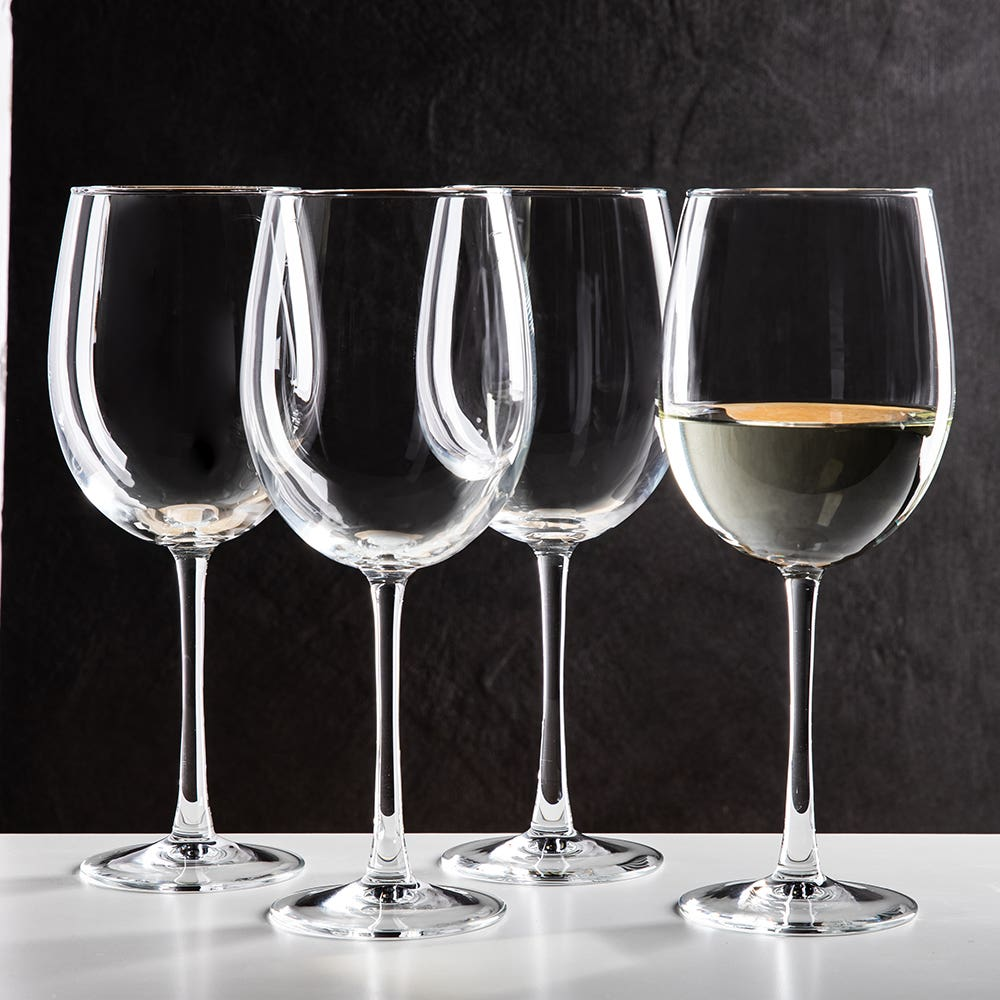 Luminarc Cachet White Wine Tulip Glass Set of 4