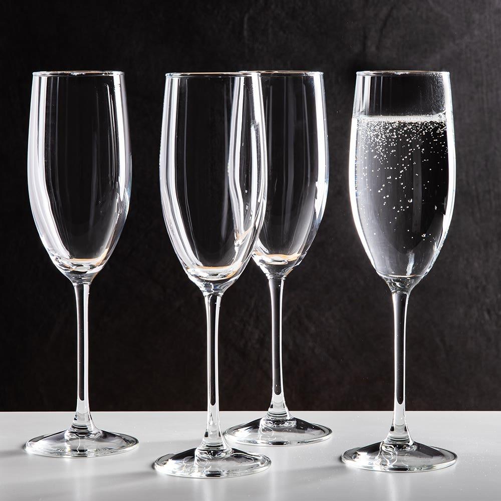 Luminarc Cachet Champagne Flute Set of 4