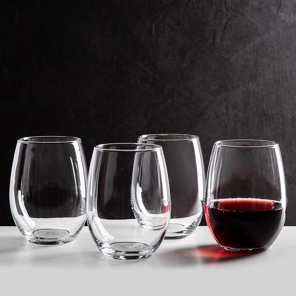 Luminarc Cachet Stemless Wine Glass 620ml - Set of 4