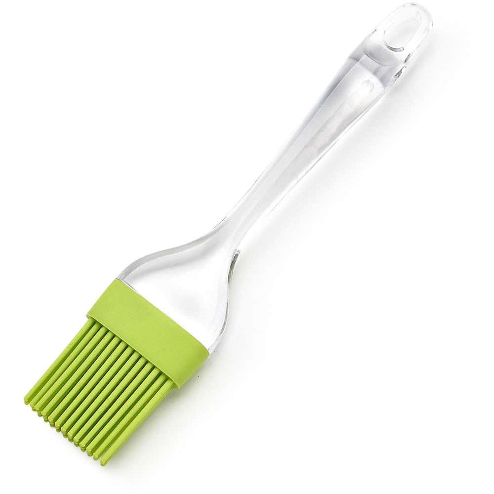 66239_KSP_Ice_Silicone_Oval_Pastry_Brush___Green