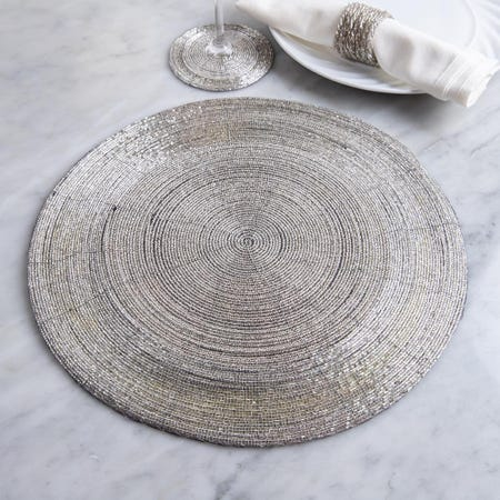 67738_KSP_Glitz_Beaded_Round_Placemat___Silver