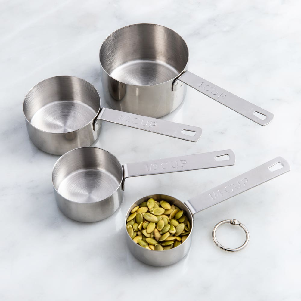 KSP Tempo Stainless Steel Measuring Cups