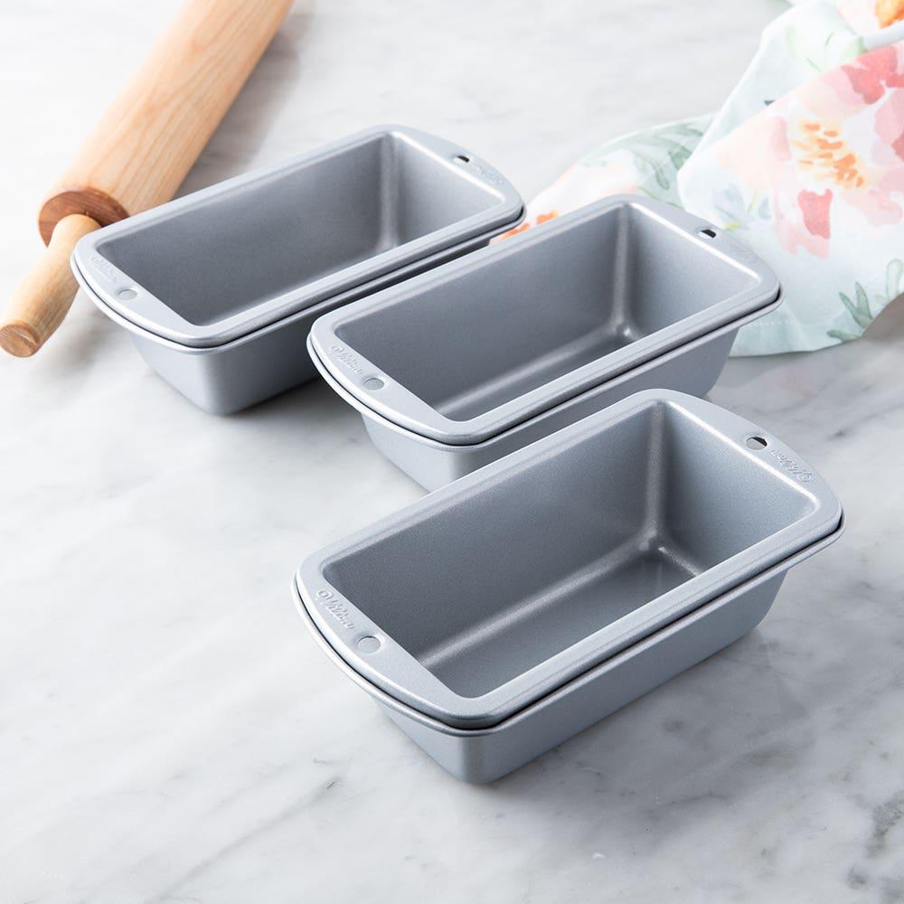 Wilton Non-Stick Mini Loaf Pan Set of 3