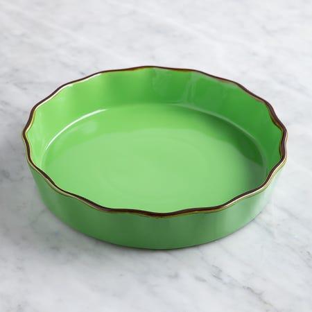 70670_KSP_Tuscana_Round_Fluted_Pie_Dish__Green