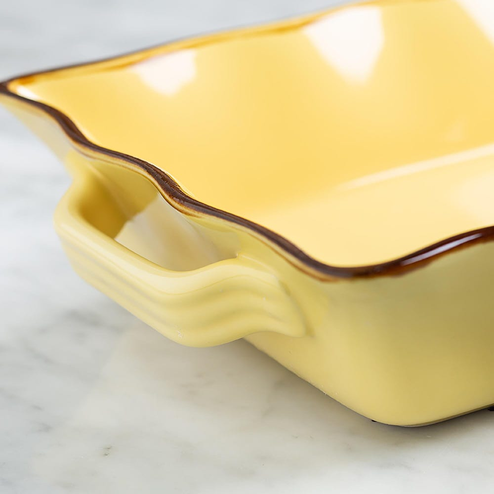 70679_KSP_Tuscana_Medium_Rectangle_Fluted_Bakeware_with_Handle__Yellow