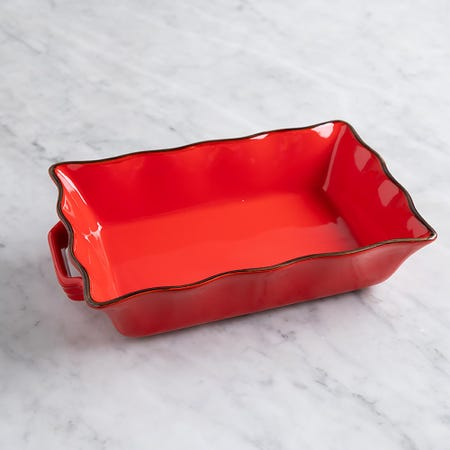 70680_KSP_Tuscana_Medium_Rectangle_Fluted_Bakeware_with_Handle__Red