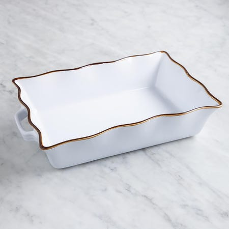 73432_KSP_Tuscana_Large_Rectangle_Fluted_Bakeware_with_Handle__White