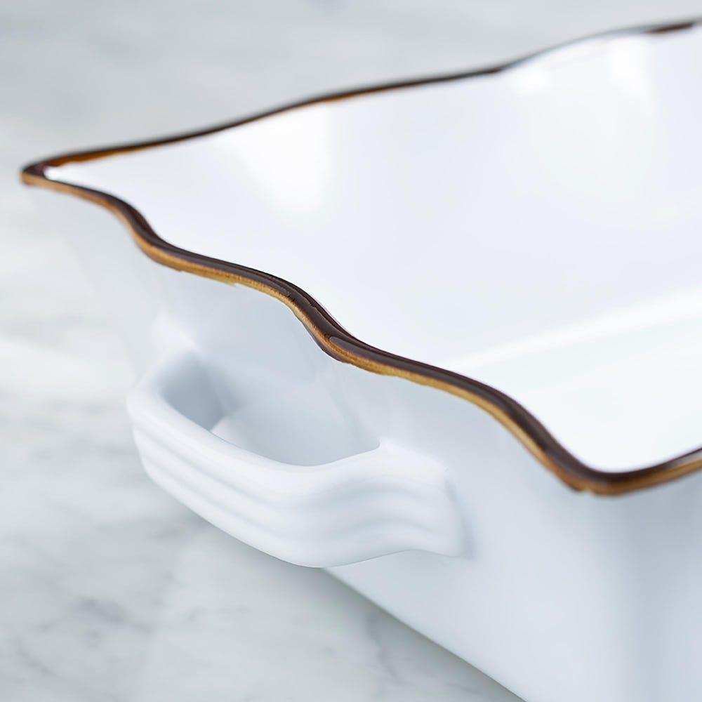 73432_KSP_Tuscana_Large_Rectangle_Fluted_Bakeware_with_Handle__White
