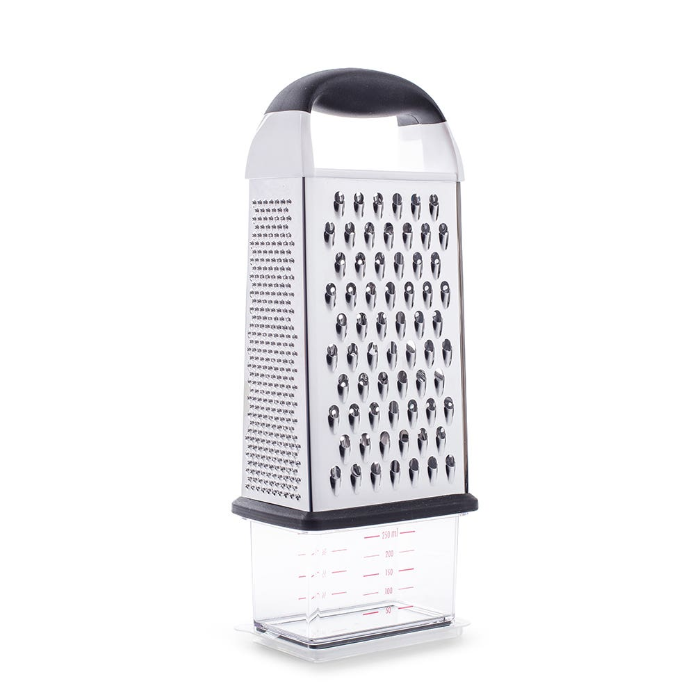 OXO Good Grips 4-Sided Tower Grater with Storage