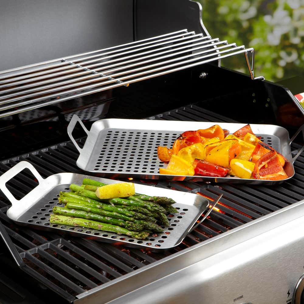 74710_KSP_Epicure_BBQ_Grill_Pans___Set_of_2__Stainless_Steel
