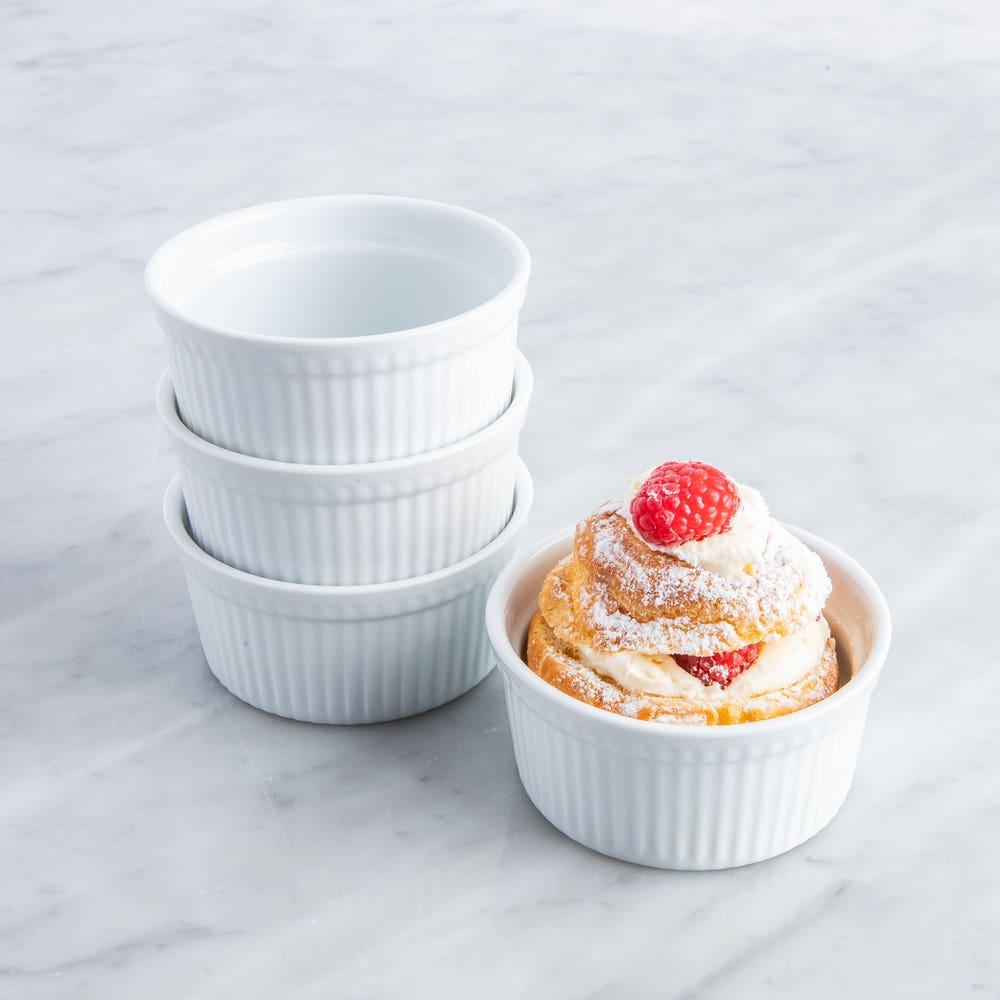 KSP Basics Porcelain Ramekin - Set of 4 (White)