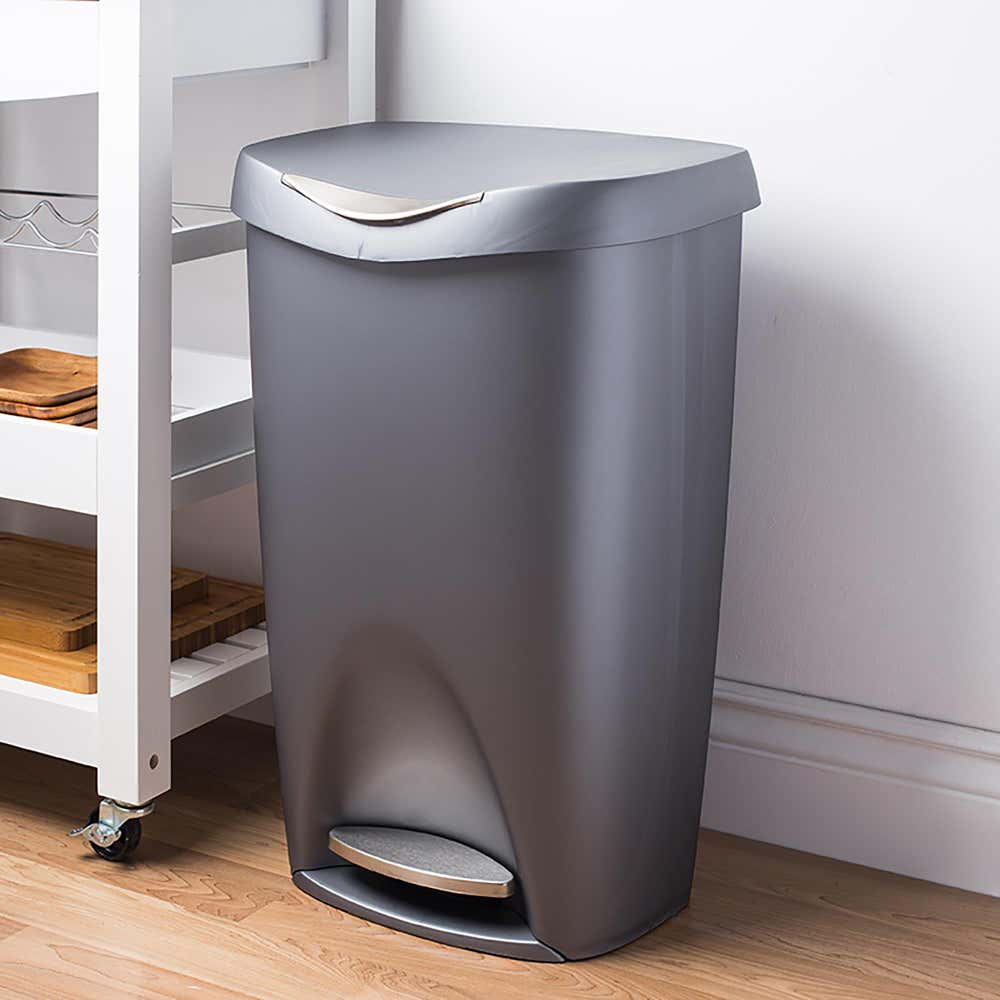 75139_Umbra_Brim_Step_Garbage_Recylcing_Can__Nickel