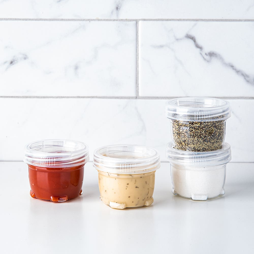 CTG Luciano Gourmet Stackable Mini Container - Set of 4