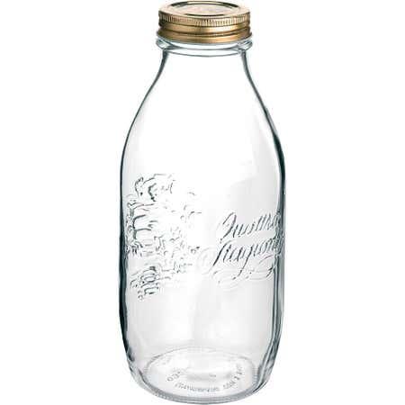 75668_Bormioli_Rocco_Quattro_Stagioni_1L_Glass_Storage_Bottle__Clear