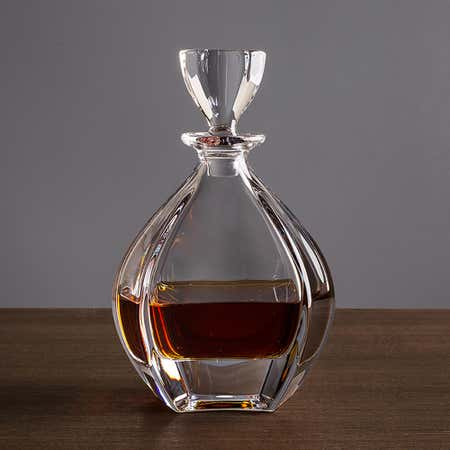 75683_Trudeau_Bohemia_'Laguna'_Whiskey_Decanter__Clear