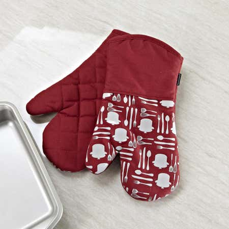 75920_Harman_Printed_'Utensil'_Silicone_Oven_Mitt___Set_of_2__Chili_Red