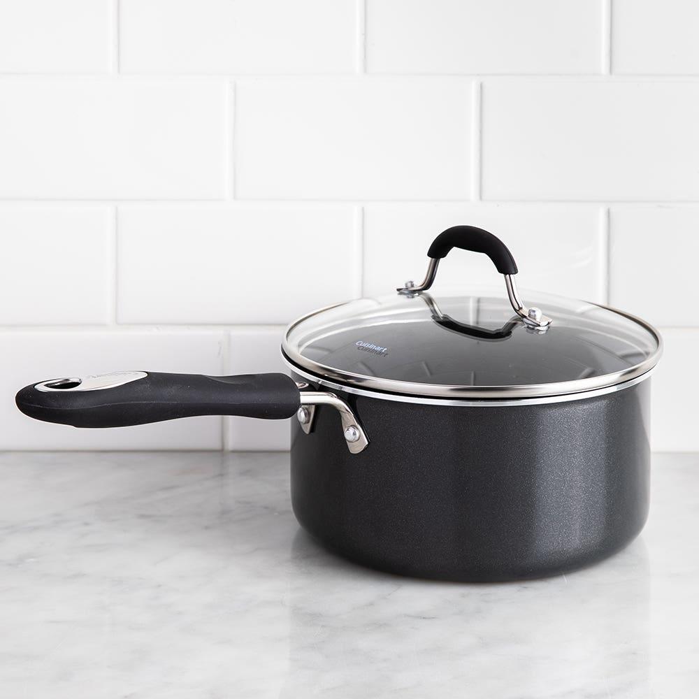 Cuisinart Advantage 2.8L Saucepan with Lid (Black)