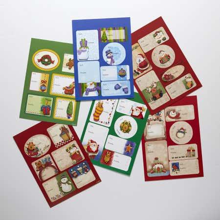 76331_CTG_Christmas_Handmade_Gift_Tag__Glitter____Set_of_18__Asstd_