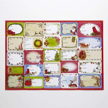 76332_CTG_Christmas_Gift_Tag_Foil_Stickers___Set_of_50__Asstd_