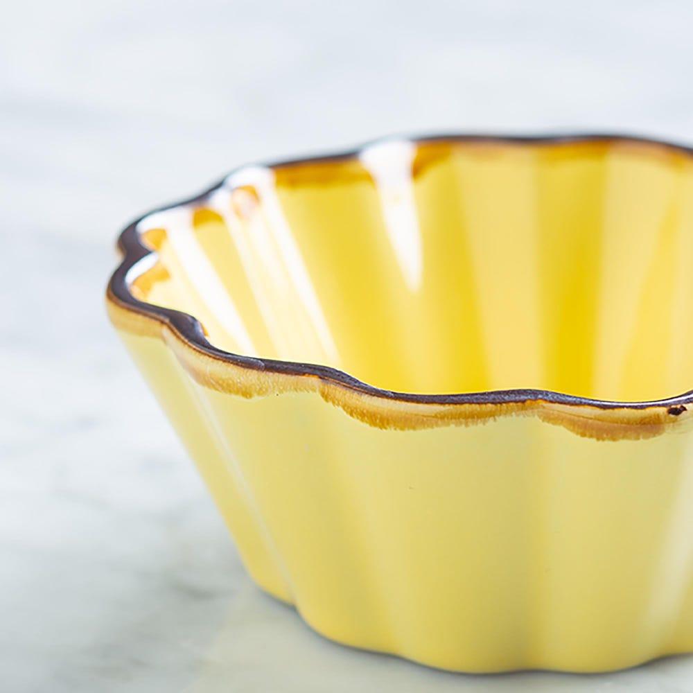 76923_KSP_Tuscana_Fluted_Mini_Pie_Dish__Yellow