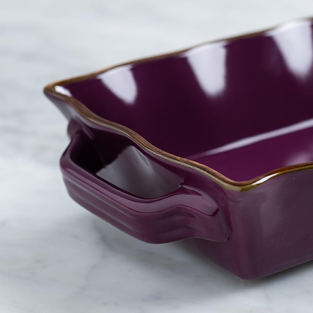 76944_KSP_Tuscana_Small_Rectangle_Fluted_Bakeware_with_Handle__Purple