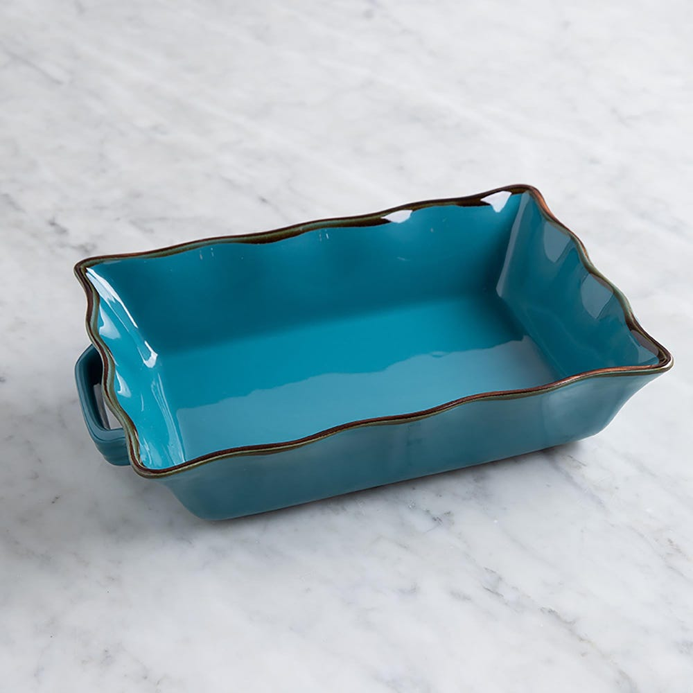 76947_KSP_Tuscana_Medium_Rectangle_Fluted_Bakeware_with_Handle__Aqua