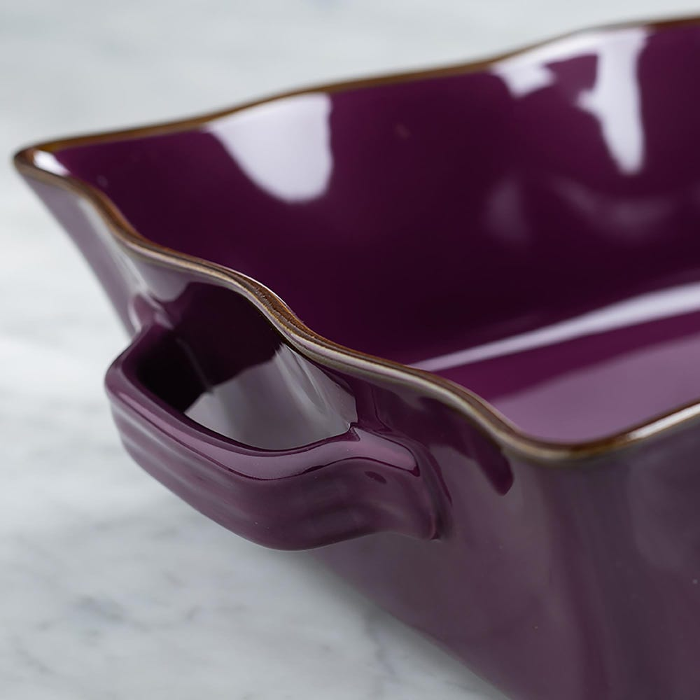 76948_KSP_Tuscana_Large_Rectangle_Fluted_Bakeware_with_Handle__Purple