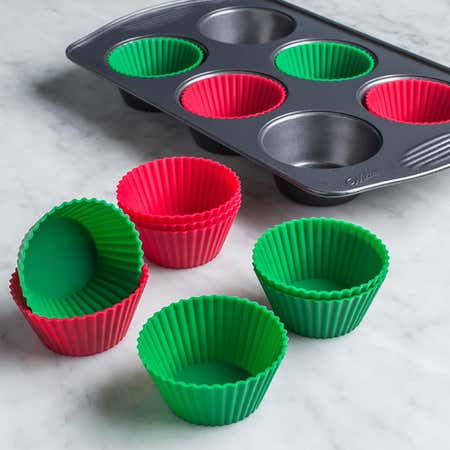76997_KSP_Christmas_Cook_Silicone_Muffin_Liners__Set_of_12