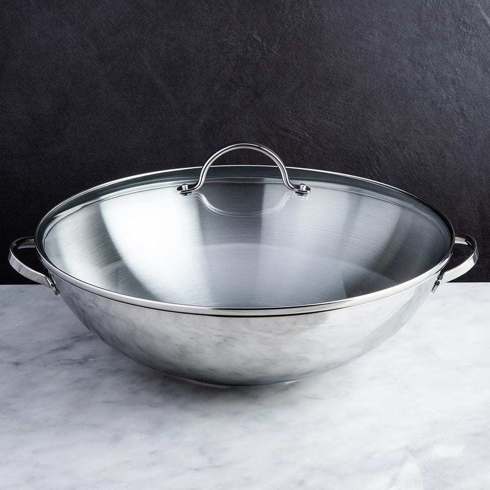 78442_Strauss_Tango_Wok_with_Glass_Lid__Stainless_Steel