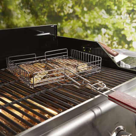 79323_Outset_BBQ_Square_Grill_Basket__Chrome