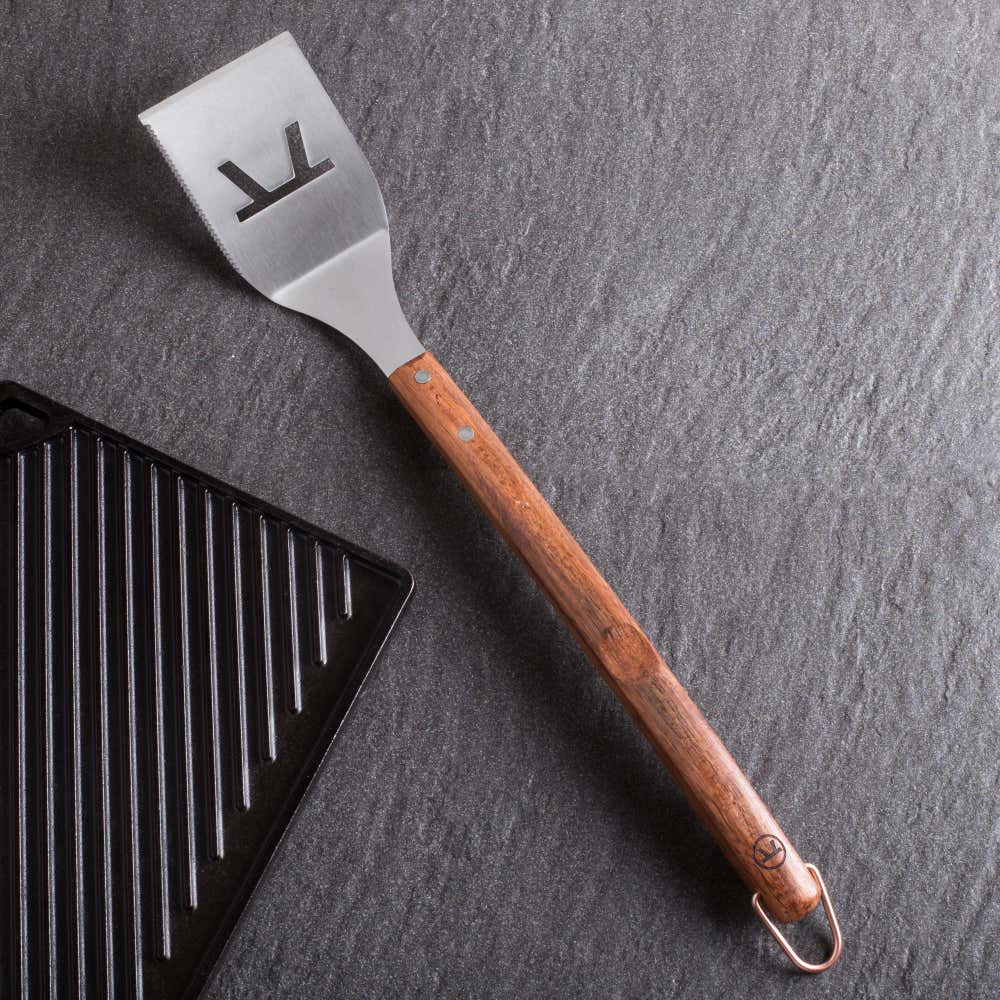 79325_Outset_BBQ_Rosewood_Handle_Spatula__Stainless_Steel