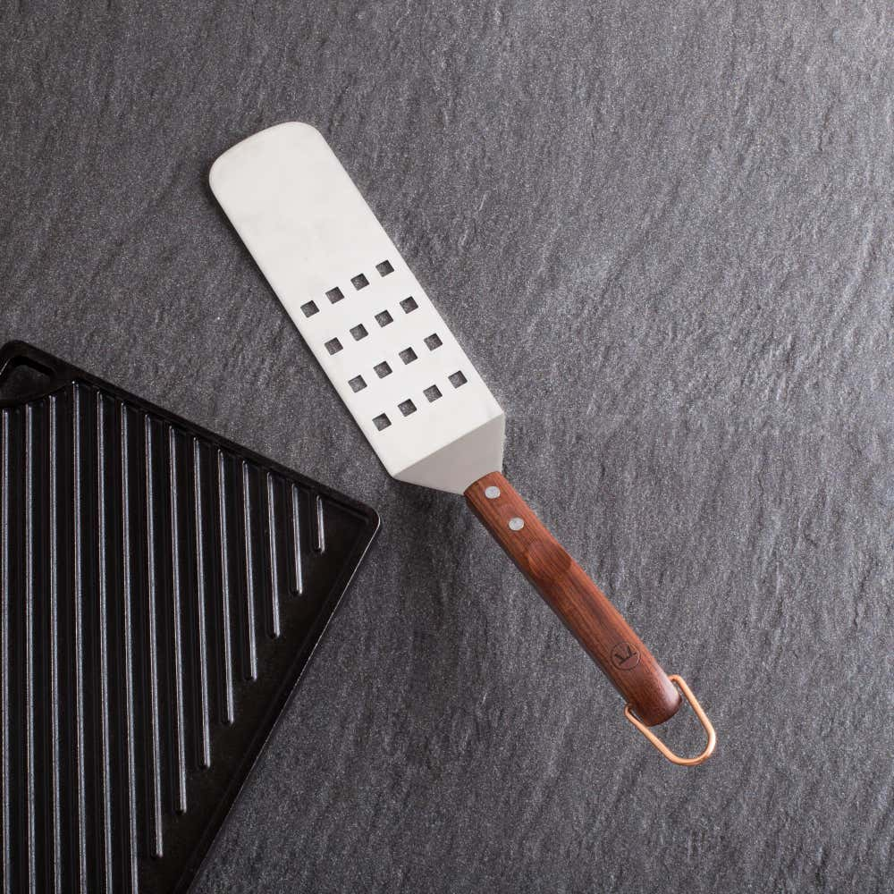 79328_Outset_BBQ_Rosewood_Handle_Long_Spatula__Stainless_Steel