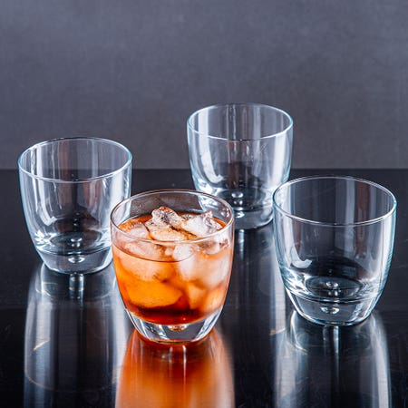 79700_Home_Essentials_Red_Series_Glass_Round_DOF___Set_of_4__Clear