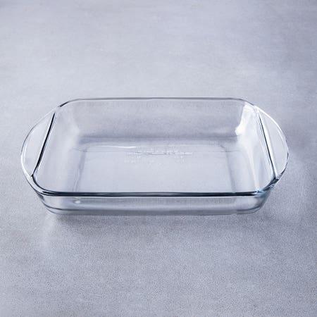80098_Kitchen_Classics_1_9L_Rectangle_Ovenware_Baker__Clear