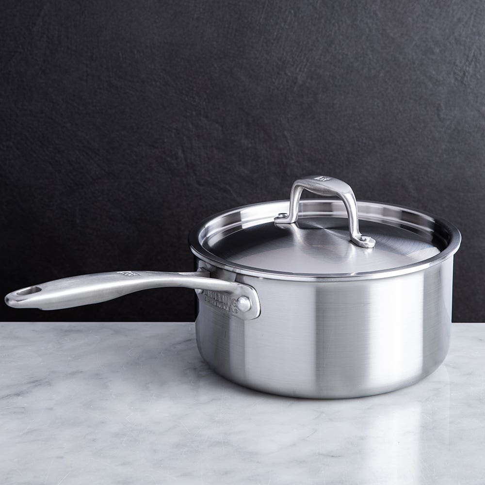 ZWILLING Sol II Open Stock 2.8L Saucepan with Lid (Satin St/St)