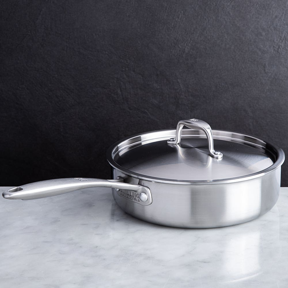 ZWILLING Sol II 2.8L Saute Pan with Lid (Satin St/St)