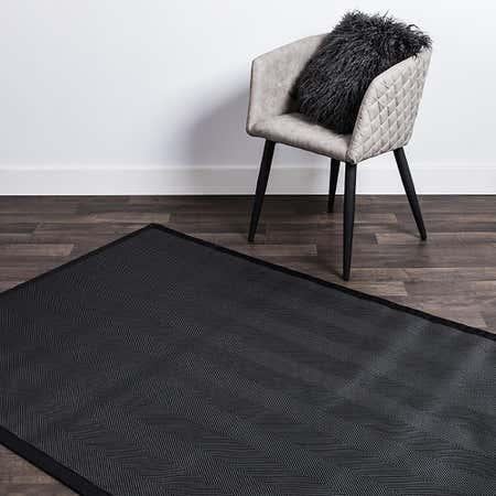 80463_Harman_Textaline_'Herringbone'_48_x72__Indoor_Outdoor_Mat__Black