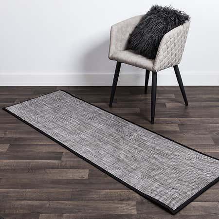 80478_Harman_Textaline_'Basketweave'_24_x72__Indoor_Outdoor_Mat__Titanium