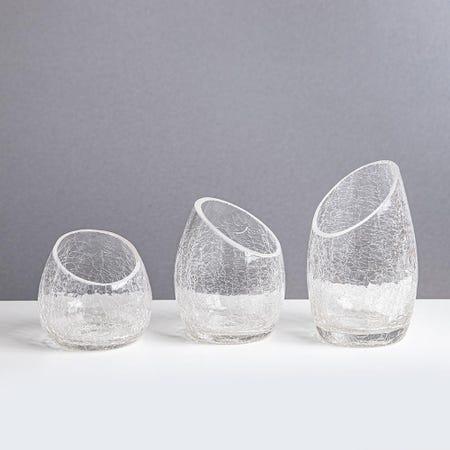 80504_KSP_Ellipse_Crackle_Glass_Tealight_Holder___Set_of_3__Clear