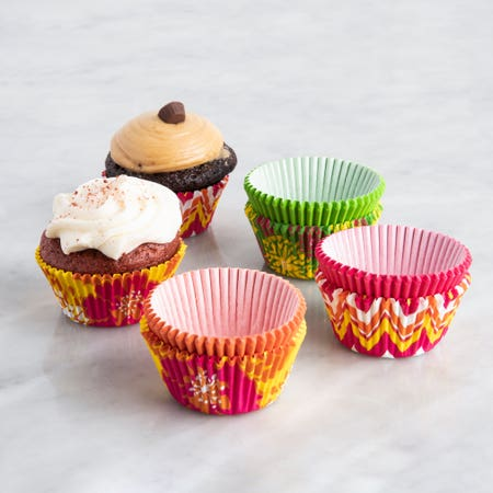 80870_Wilton_'Neon_Florals'_Paper_Muffin_Cupcake_Liner___Set_of_150