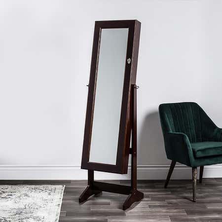 80922_KSP_Sophia_Floor_Mirror_Jewellery_Cabinet__Brown