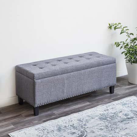 81006_KSP_Whitney_Upholstered_Storage_Bench__Grey