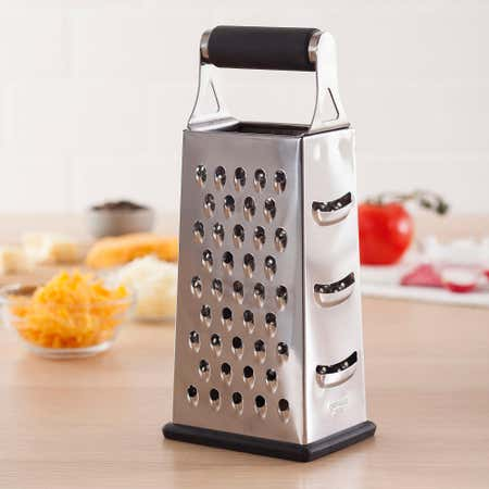 81375_Task_Cuisine_4_Sided_Tower_Grater_Box__Black_Stainless_Steel