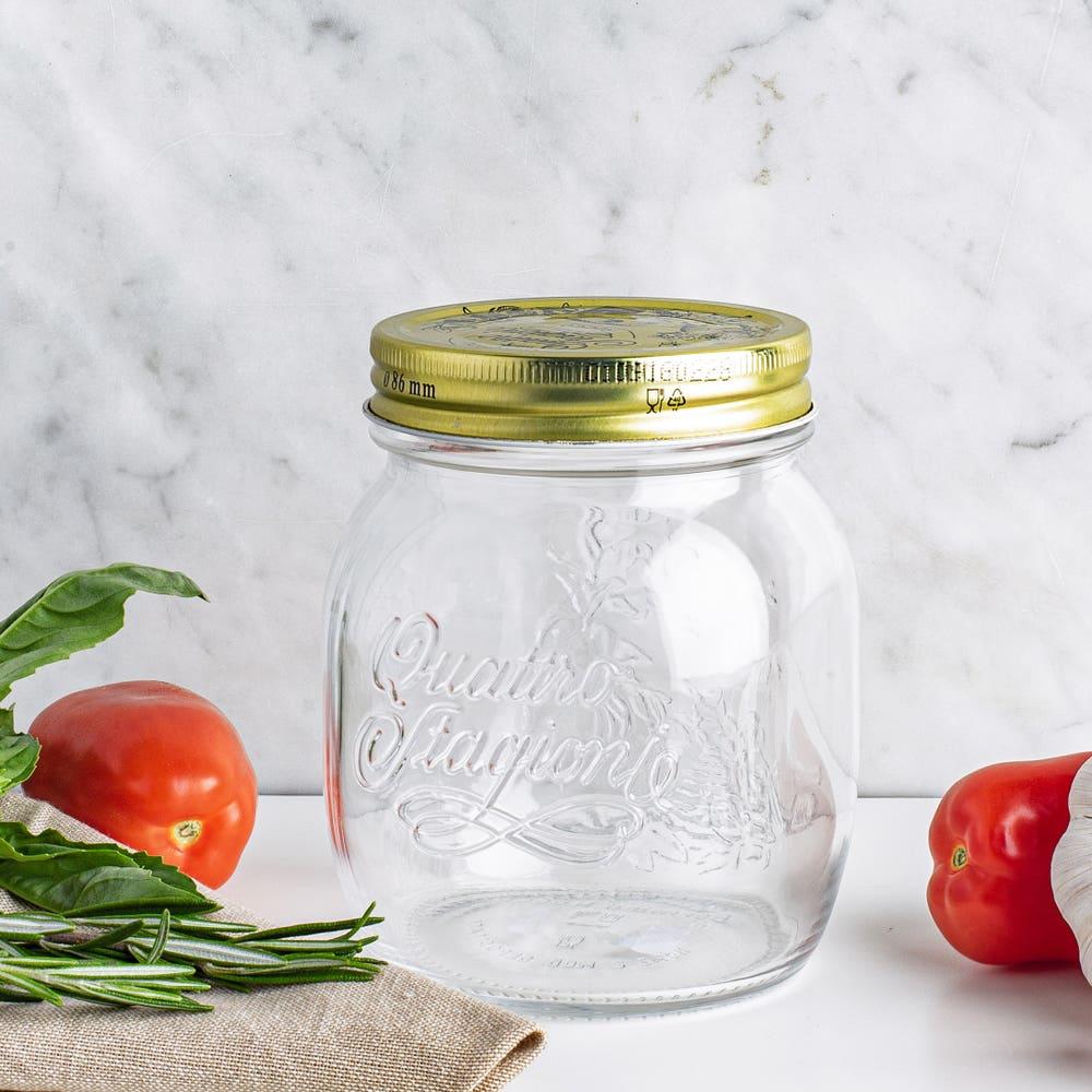 Bormioli Rocco Quattro Stagioni Glass Canning Jar