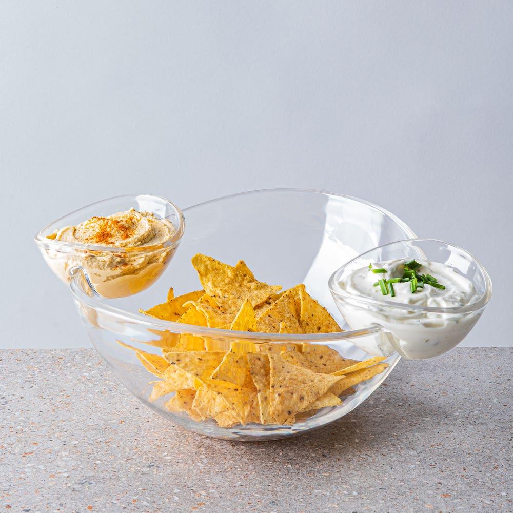 KSP Perch Chip and Dip Serving Bowl