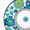 KSP Madrid Patioware Dinner Plate (Blue/Green)