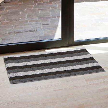 82665_KSP_Loop_'Wide_Stripe'_Pvc_Floor_Mat__White_Grey_Black