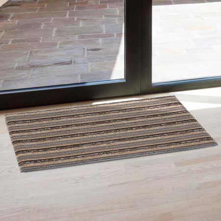 82668_KSP_Loop_'Random_Stripe'_Pvc_Floor_Mat__Brown_Grey_Black