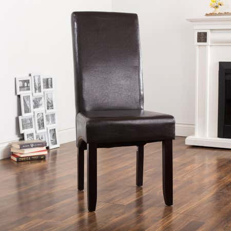82892_KSP_Cole_Bonded_Leather_Dining_Chair__Brown