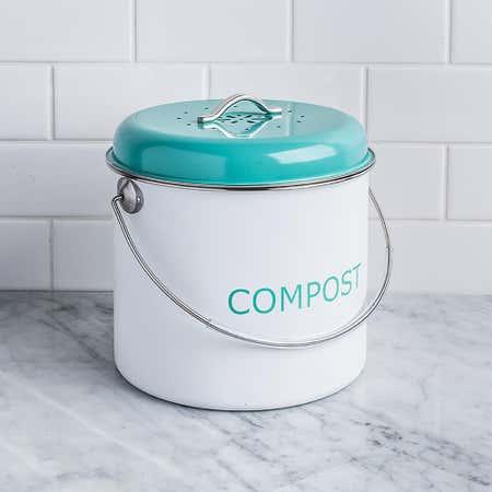 83063_Kitchen_Basics_Enviro_Metal_Compost_Pail__Teal_White